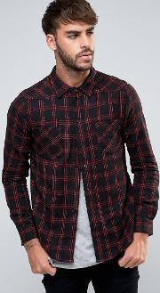 Another Influence , Checked Shirt Black