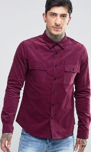 Another Influence , Cord Shirt Red