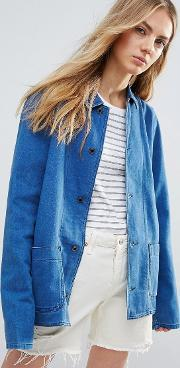 Bethnals , New Tommy Worker Jacket French Blue
