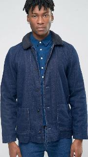 Bethnals , Tommy Borg Lined Jacket Navy