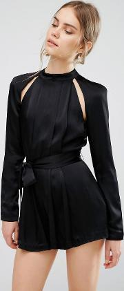 Cmeo Collective , C/meo Collective Can't Resist Playsuit Black