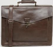 Royal Republiq , Conductor Leather Satchel Brown