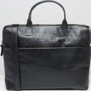 Royal Republiq , Courier Single Leather Satchel  Black