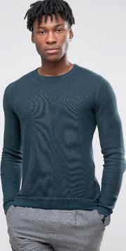 Selected Homme , Crew Neck Knit Green