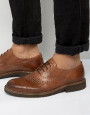 Selected Homme , Noah Lace Up Shoes Brown