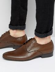 Steve Madden , Henson Leather Derby Shoes Brown