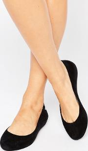 Zaxy , Soft Flock Ballerina Black