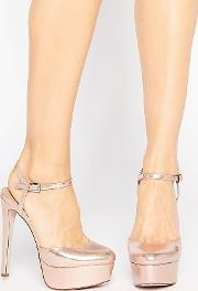 Asos , Pucker Up Platforms Nude
