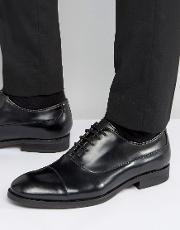 Selected Homme , Selected Leather Oxford Shoes Black