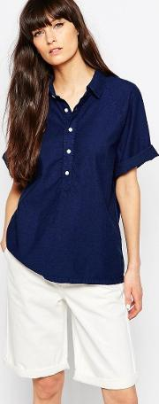 Bethnals , Alex Polo Shirt Indigo