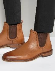 Dune , Chelsea Boots Tan Leather