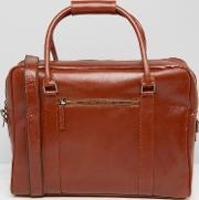 Royal Republiq , Duke Leather Holdall Tan