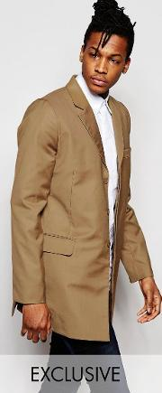 Rogues Of London , Exclusive Camel Overcoat
