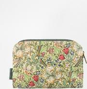 Beauty Extras , Morris & Co Small Cosmetic Bag Golden Lily