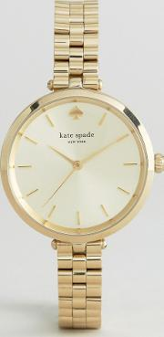Kate Spade , New York Gold Holland Metal Watch