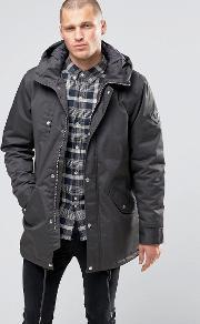 Fat Moose , Outskirts Parka Quilted Lining Anthracite