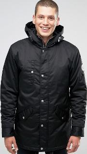 Fat Moose , Outskirts Parka Quilted Lining Black