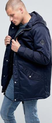 Fat Moose , Outskirts Parka Quilted Lining Navy