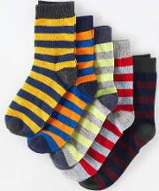 Johnnie  B , 5 Pack Socks Blue Johnnie B Blue