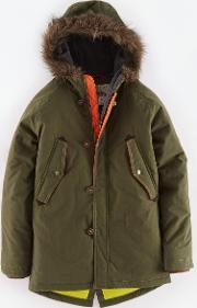 Johnnie  B , Parka Green Johnnie B Green