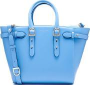 Aspinal Of London , Women's Marylebone Medium Tote Bag Forget Me Not