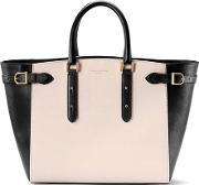Aspinal Of London , Women's Marylebone Tote Bag Monochrome