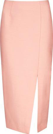 Cmeo Collective , Women's Perfect Lie Pencil Skirt Pink Muk 10
