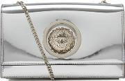 Versus Versace , Women's Metallic Shoulder Bag Silver