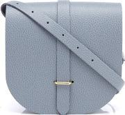 The Cambridge Satchel Company , Women's Saddle Bag French Grey Grain