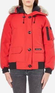 Canada Goose , Women's Chilliwack Bomber Jacket Red L