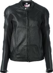 Alyx , Biker Jacket Women Calf Leatherpolyamidepolyester S