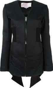 Alyx , Ruffled Back Detailing Jacket Women Cottonpolyamideviscose Xs, Women's, Black