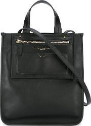 Anthony Vaccarello , Square Tote Women Calf Leather One Size
