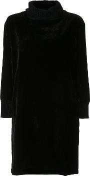 Atm Anthony Thomas Melillo , Velvet Effect Sweater Dress Women Nylonviscose S