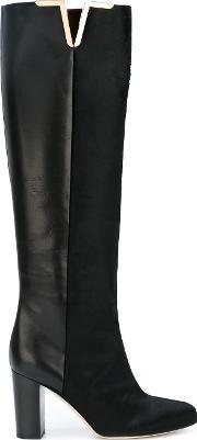 Brian Atwood , Knee Length Boots Women Goat Furleather 36