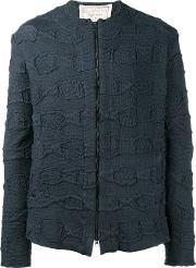 By Walid , Textured Jacket Men Cotton Xl