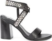 Calleen Cordero , Hexa 2 Sandals Women Leather 9, Women's, Black
