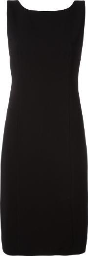 Capucci , Back Bow Detail Dress Women Polyesterspandexelastaneviscose 42