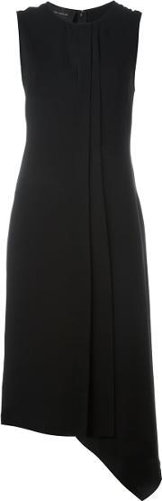 Cedric Charlier , Asymmetric Hem Dress Women Polyesteracetaterayon 42