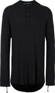Cedric Jacquemyn , Ribbed Strap Detail Jersey