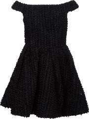 Christian Siriano , Off The Shoulder Tulle Dress Women Silk 6