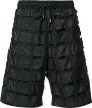 Christopher Raeburn , Airbrake Shorts Men Nylonpolyester L, Black