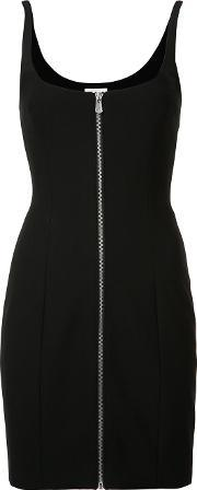 Cinq A Sept , Front Zip Fitted Dress Women Polyesterspandexelastaneviscose 2