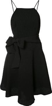Cmeo , Cmeo Bow Detail Flared Dress Women Nylonpolyesterviscose M