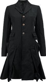Comme Des Garcons , Flared Buttoned Jacket Women Polyester S