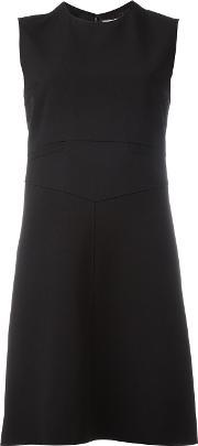 Courreges , Sleeveless Dress Women Silkwool 36