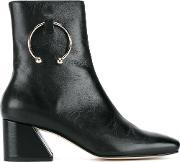 Dorateymur , Nizip Grained Leather Ankle Boots
