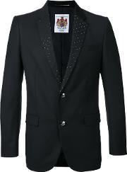Education From Youngmachines , Classic Blazer Men Polyesterrayon 2