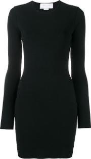 Esteban Cortazar , Peace Sign Back Mini Dress Women Polyesterviscose Xs, Women's, Black