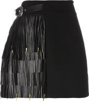 Fausto Puglisi , Fringed A Line Skirt